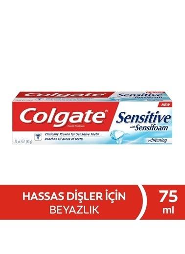 Colgate Colgate Sensitive Sensifoam Hassas Lık Macun 75 Ml Renksiz
